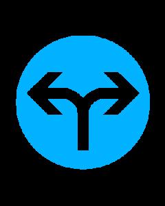 عبور به راست و چپ آزاد