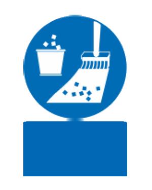 محوطه کار خود را به صورت مرتب نظافت کنید