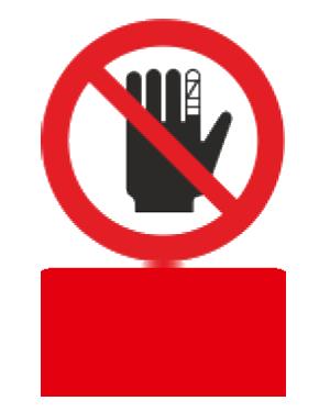 با دست مجروح کار نکنید