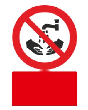 شستشوی دست در این محل ممنوع